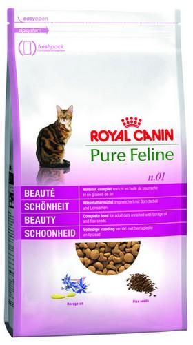 sklep zoologiczny Royal Canin Feline Pure Beauty n.01 Piękna Sierść 1,5kg