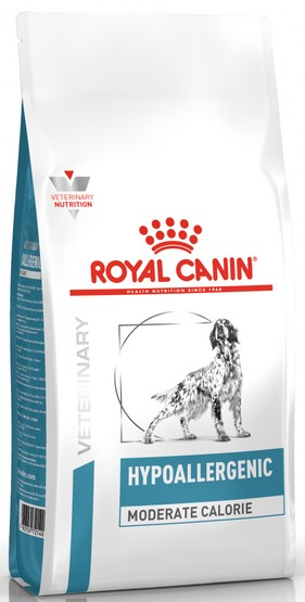 Royal Canin Veterinary Diet Canine Hypoallergenic Moderate Calorie 14kg