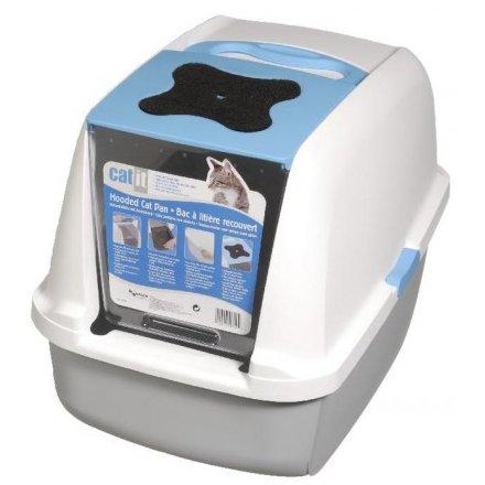 sklep zoologiczny Catit Toaleta z filtrem Niebieska