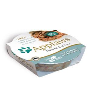 sklep zoologiczny Applaws miseczka dla kota Sardynka z Makrelą 60g