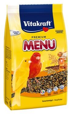 sklep zoologiczny Vitakraft Menu Vital Kanarek - Miodowa 1kg [21450]