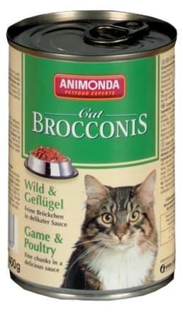 sklep zoologiczny Animonda Brocconis Kot  Dziczyzna+Drób 400g