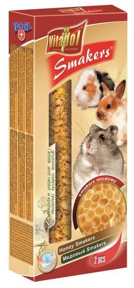 sklep zoologiczny Vitapol Smakers dla gryzoni - miodowy 2szt [1115]