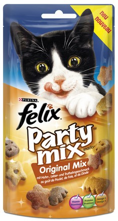 sklep zoologiczny Felix Party Mix Original Mix 60g