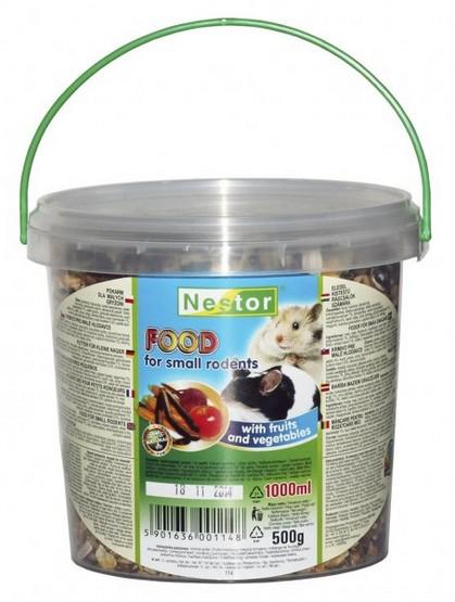 Nestor Pokarm dla małych gryzoni owocowo-warzywny 1L