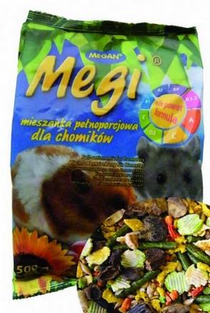 sklep zoologiczny Megan Mieszanka Megi dla chomika 500g [ME143]