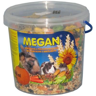 sklep zoologiczny Megan Pokarm dla gryzoni 1L [ME4]