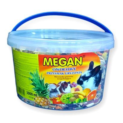 sklep zoologiczny Megan Owocowy przysmak gryzonia 3L [ME46]