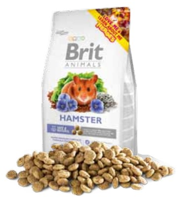 sklep zoologiczny Brit Animals Hamster Complete 100g