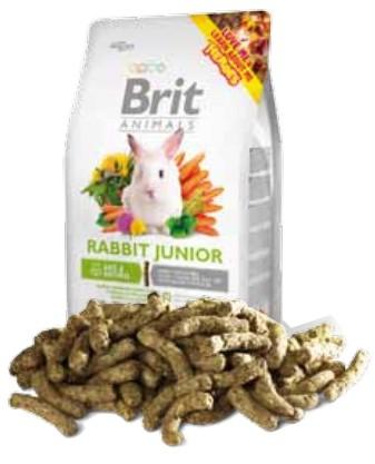 sklep zoologiczny Brit Animals Rabbit Junior Complete 300g