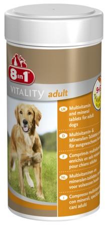 sklep zoologiczny 8in1 Multi Vitamin Adult 70tabl.
