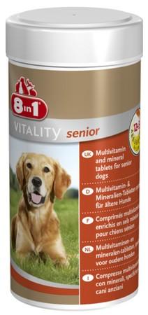 sklep zoologiczny 8in1 Multi Vitamin Senior 70tabl.