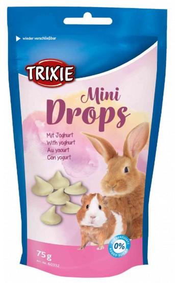 Trixie Dropsy jogurtowe dla gryzoni saszetka 75g [60332]