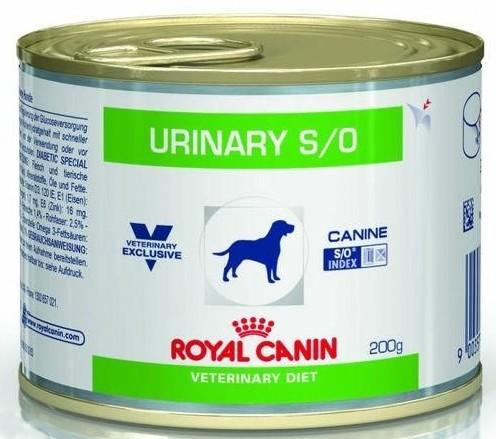 sklep zoologiczny Royal Canin Veterinary Diet Canine Urinary S/O puszka 200g