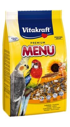 sklep zoologiczny Vitakraft Menu Vital Papuga średnia 1kg [2110621]