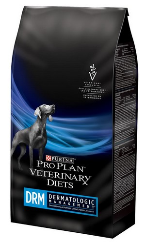 sklep zoologiczny Purina Veterinary Diets DRM DeRM Canine Fromula 12kg