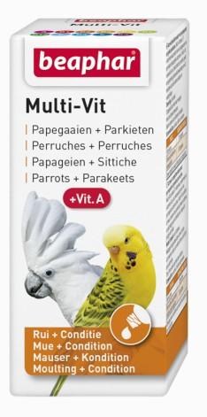 Beaphar Multi-Vit For Parrots - witaminy dla papug 20ml