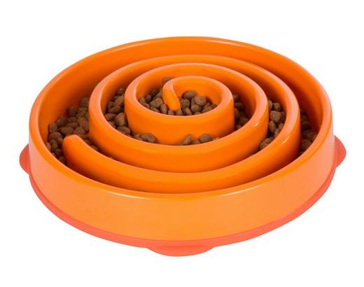 sklep zoologiczny Outward Hound Fun Feeder Miska pomarańczowa [51001]