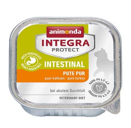 sklep zoologiczny Animonda Integra Protect Intestinal dla kota - z indykiem tacka 100g