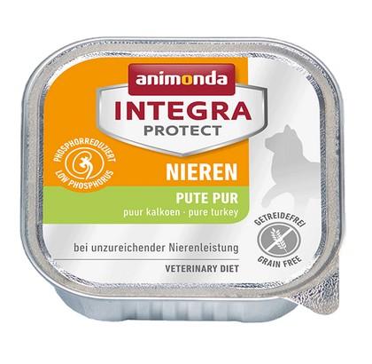 sklep zoologiczny Animonda Integra Protect Nieren dla kota - z indykiem tacka 100g