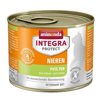 sklep zoologiczny Animonda Integra Protect Nieren dla kota - z indykiem puszka 200g