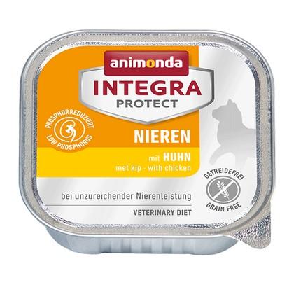 sklep zoologiczny Animonda Integra Protect Nieren dla kota - z kurczakiem tacka 100g