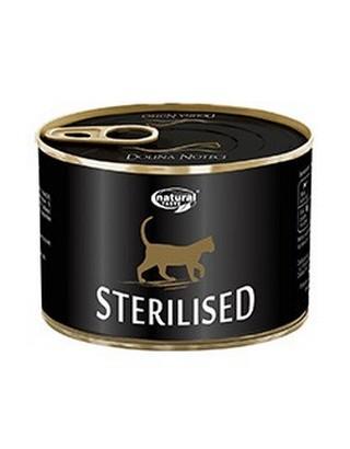 sklep zoologiczny Natural Taste Kot Sterilised puszka 185g