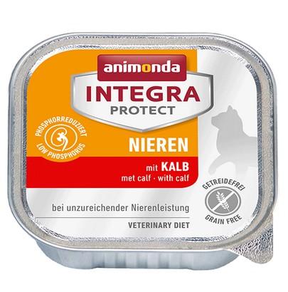 sklep zoologiczny Animonda Integra Protect Nieren dla kota - z cielęciną tacka 100g