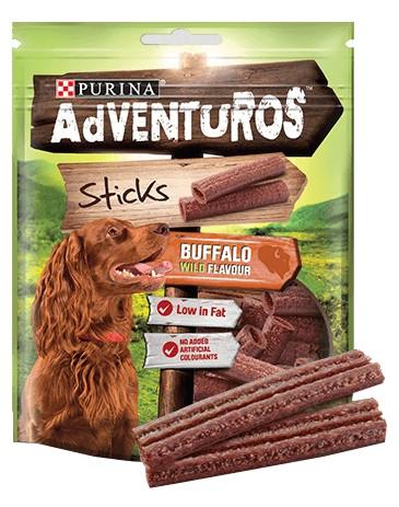 sklep zoologiczny Purina Adventuros Sticks 120g