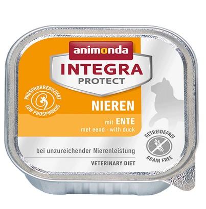 sklep zoologiczny Animonda Integra Protect Nieren dla kota - z kaczką tacka 100g