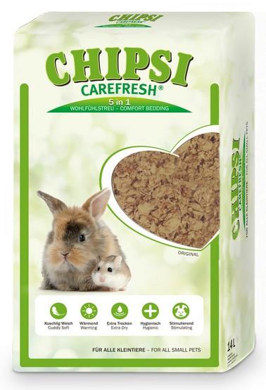 Chipsi CareFresh Natural 14L - ściółka naturalna