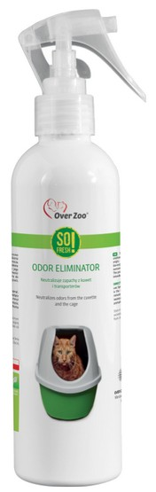 Over Zoo So Fresh! Odor Eliminator - neutralizuje zapach z kuwet 250ml